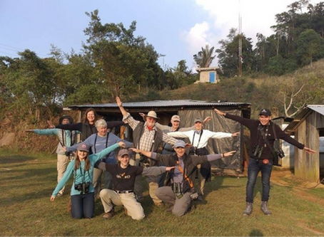 Birding in Northern Colombia: A Photographic Travelogue