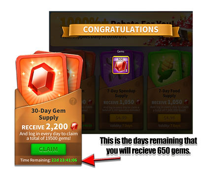 Free Gems in Rise of Kingdoms