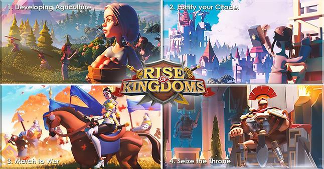 The basics of Rise of Kingdoms