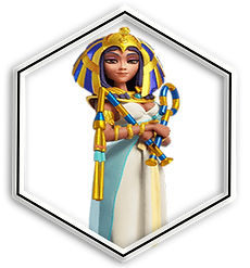 Rise of Kingdoms Commander Cleopatra