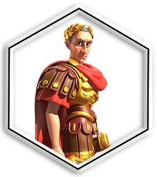 Rise of Kingdoms Commander Julius Caesar