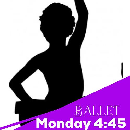 Monday 4:45 Ballet/Tap Recital Package