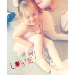 Try not to fall in love with this cutie! #lovemdt #pointe #ballet #instagood