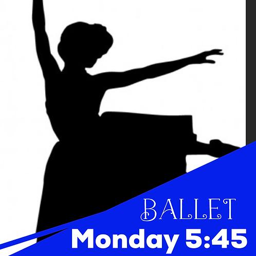 Monday 5:45 Ballet Recital Package