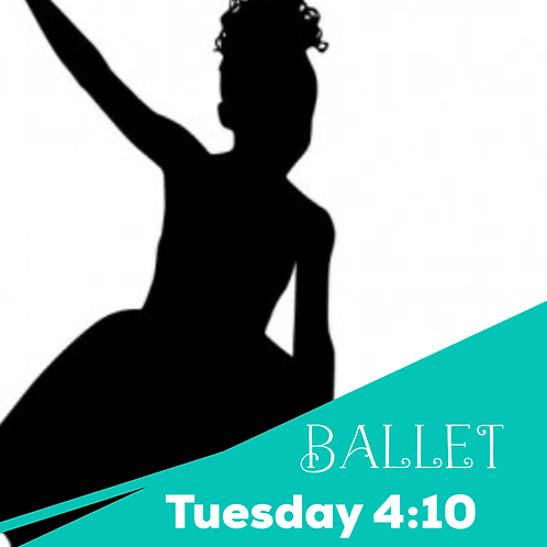 Tuesday 4:10 Ballet Recital Package