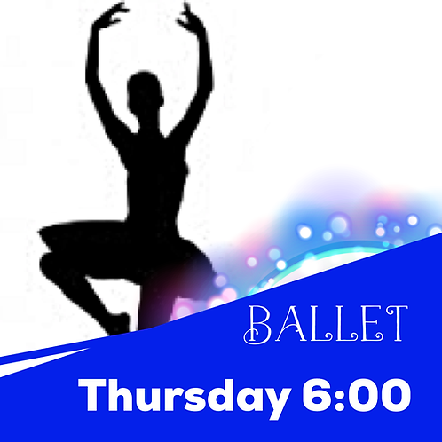 Thursday 6:00 Ballet Recital Package