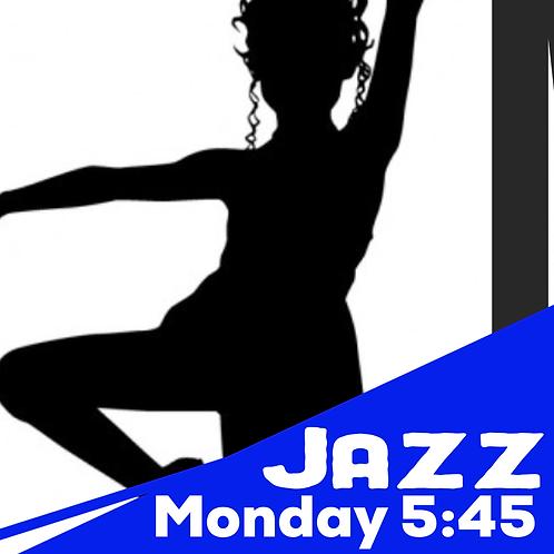 Monday 5:45 Tap/ Jazz