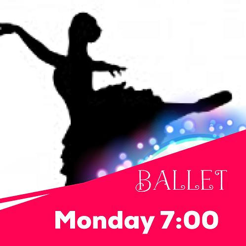 Monday 7:00 Ballet Recital Package