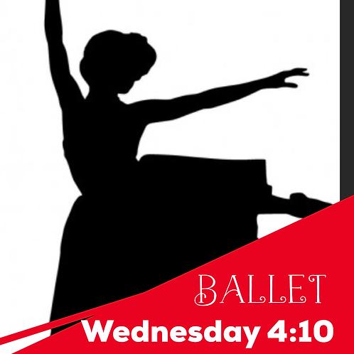 Wednesday 4:10 Ballet  Recital Package