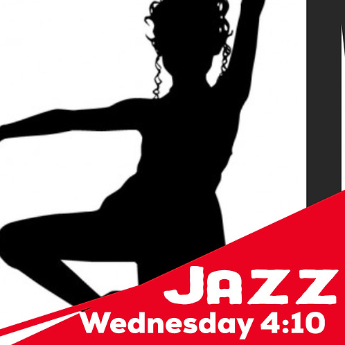 Wednesday 4:10  Tap and Jazz