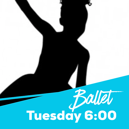 Tuesday 6:00 Ballet Recital Package