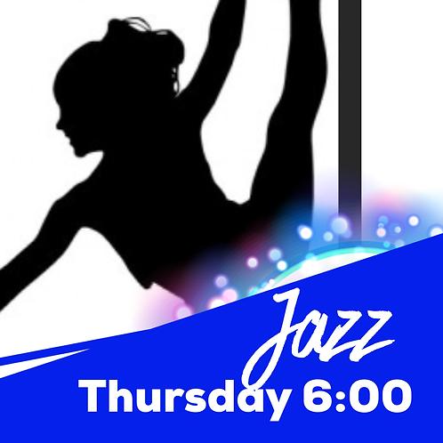 Thursday 6:00 Jazz