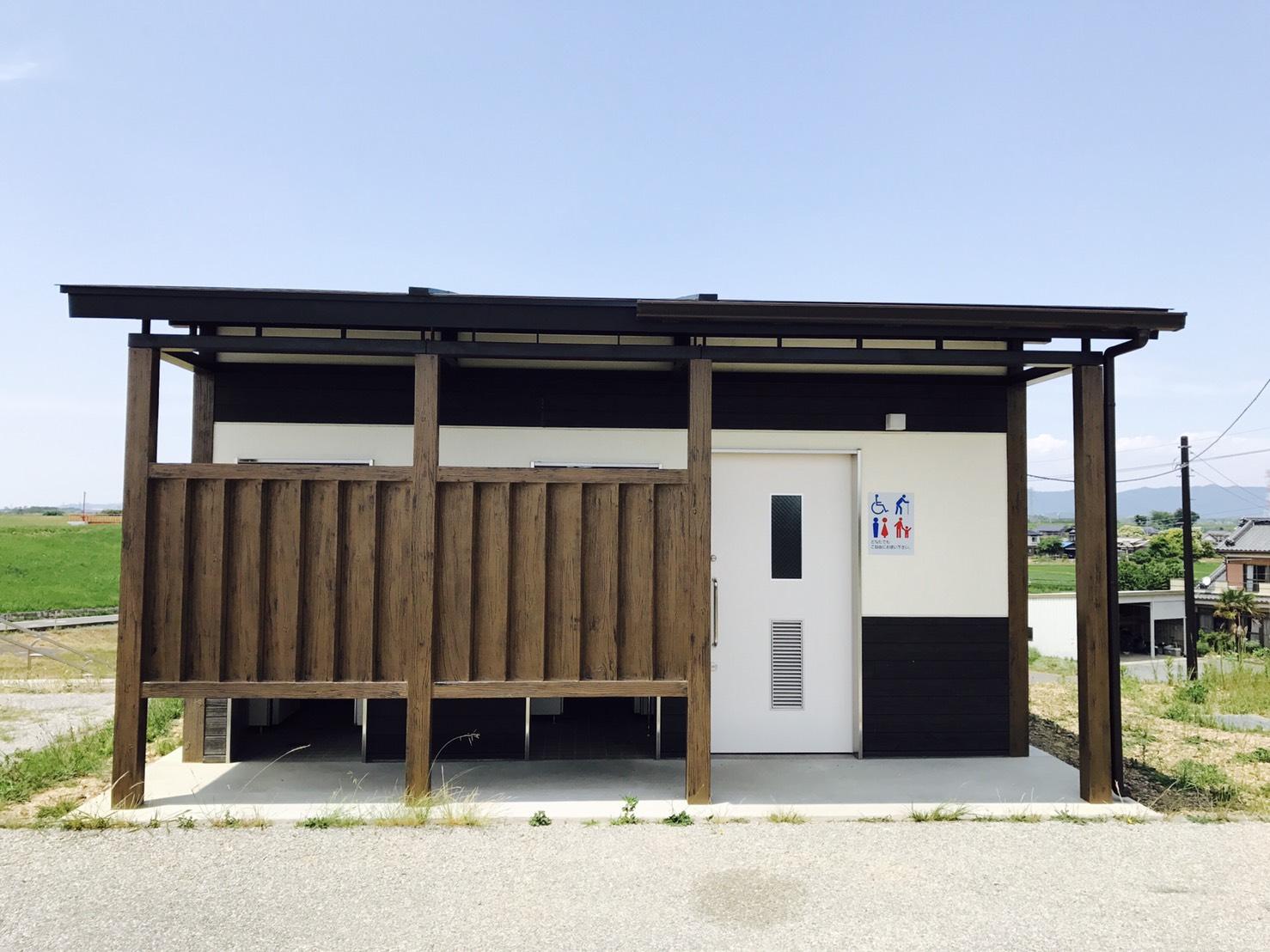 桜づつみ公園公衆トイレ