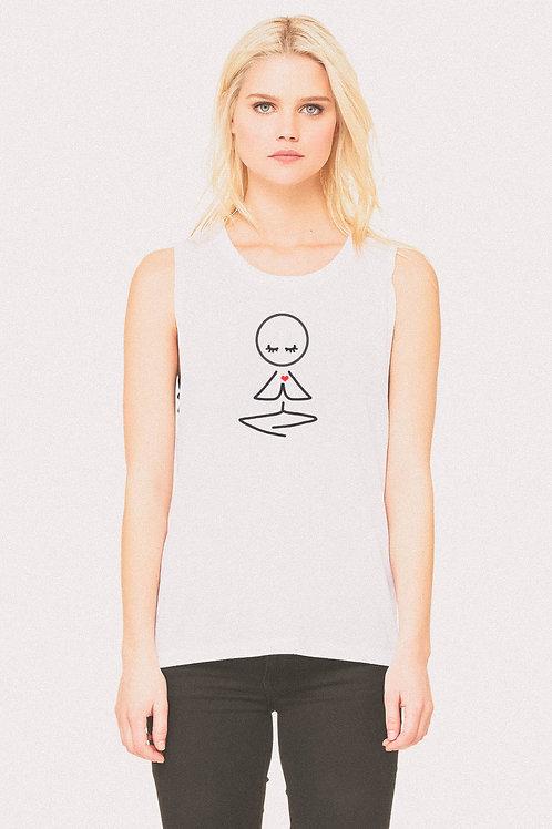 Spring Meditating Yogi Tee
