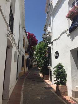Улочки старого города Марбелья