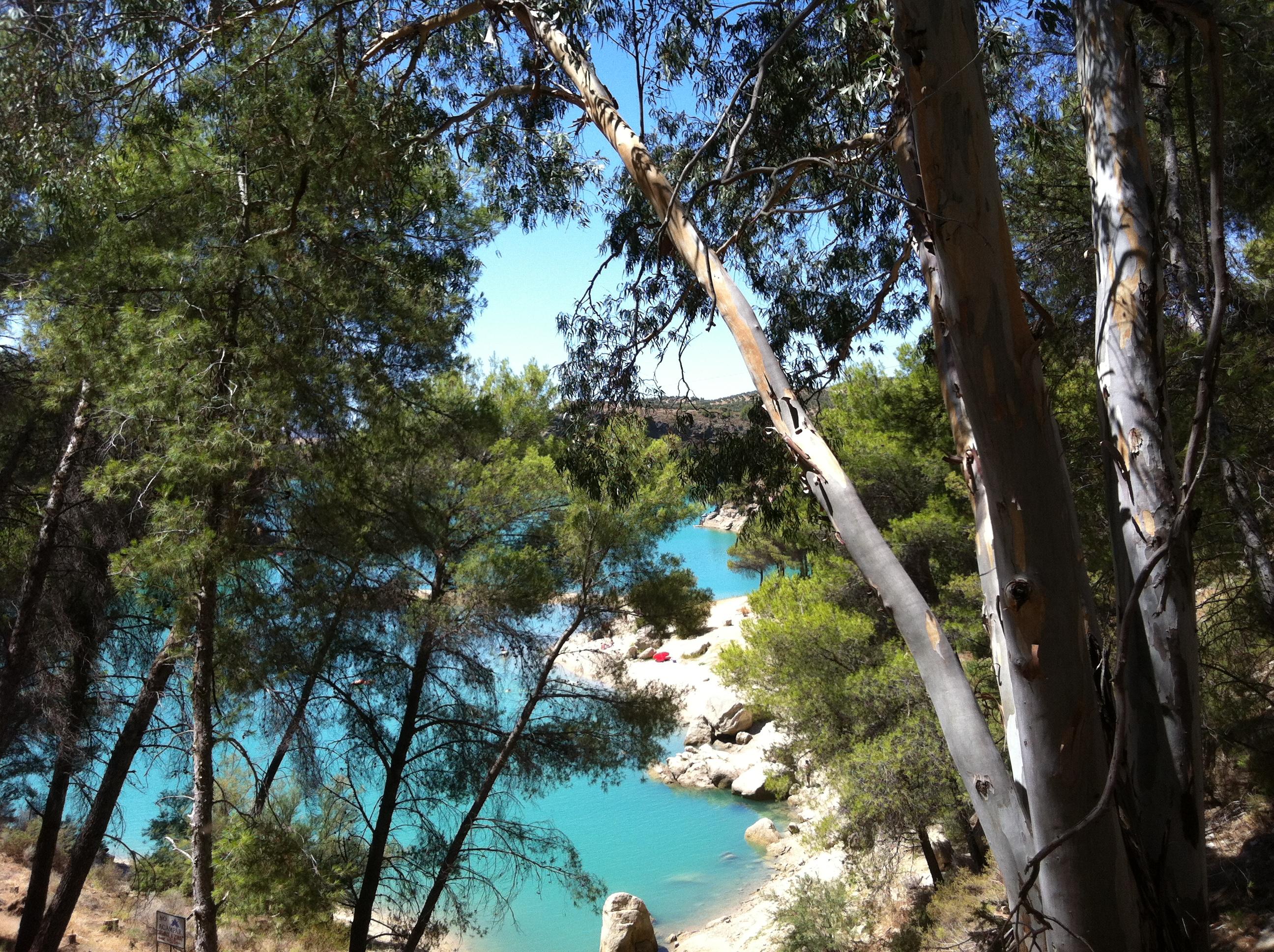 Озеро Эль Чорро
