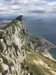 в Гибралтар из Испании