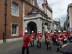 Военный парад в Гибралтаре