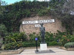 Памятник Нельсону в Гибралтаре