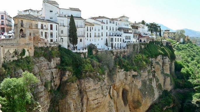 Белые деревни Андалусии.