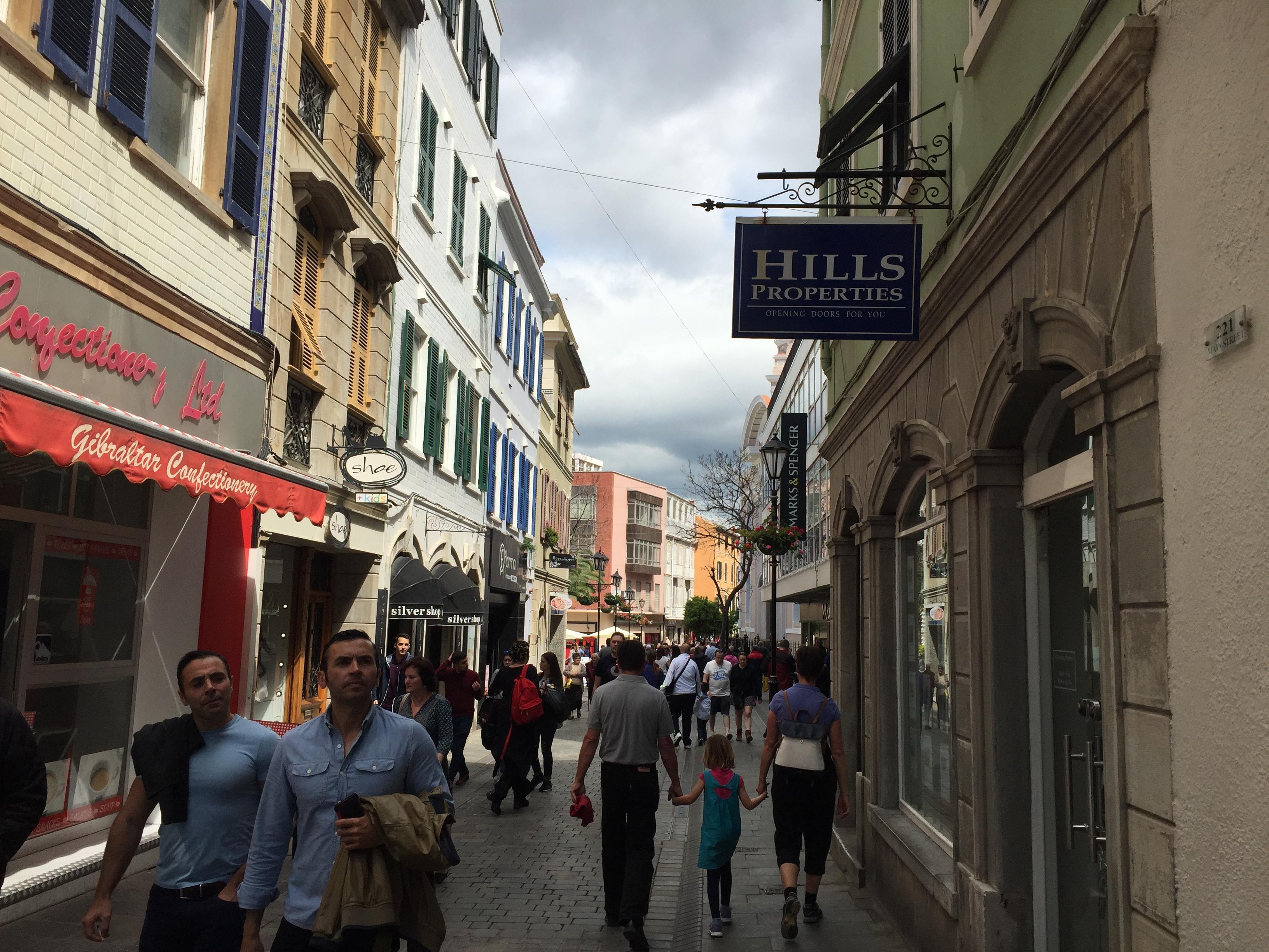 Main street Гибралтара