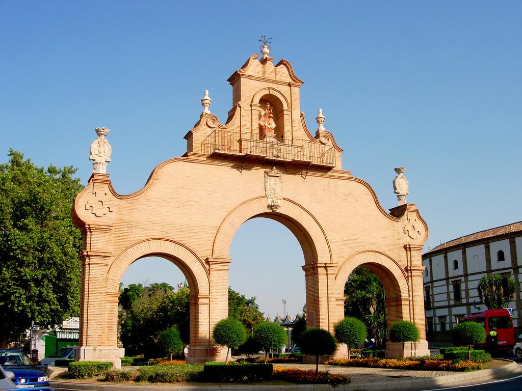 Ворота Гранады. Антекера.