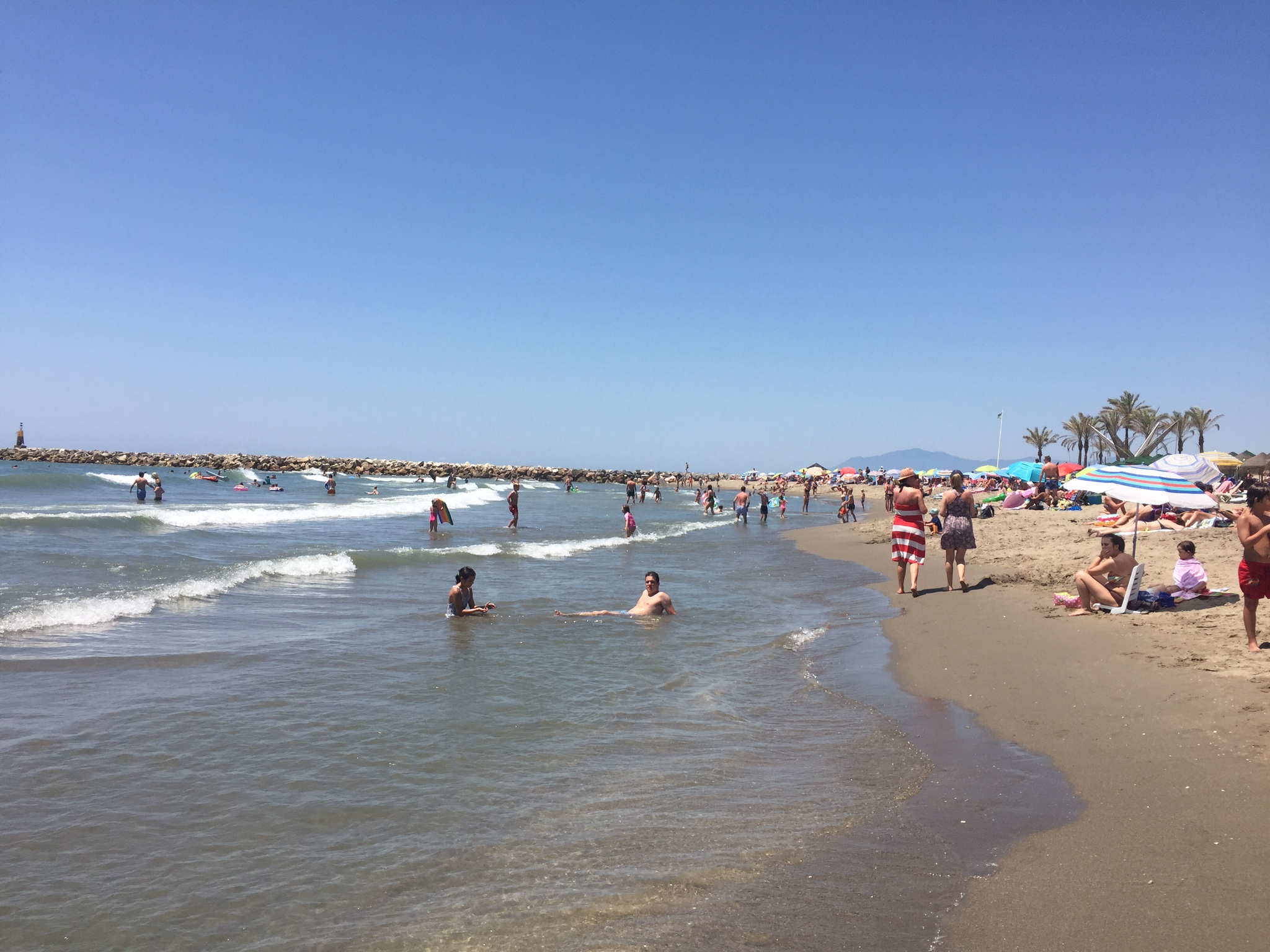 Пляж Cabopino