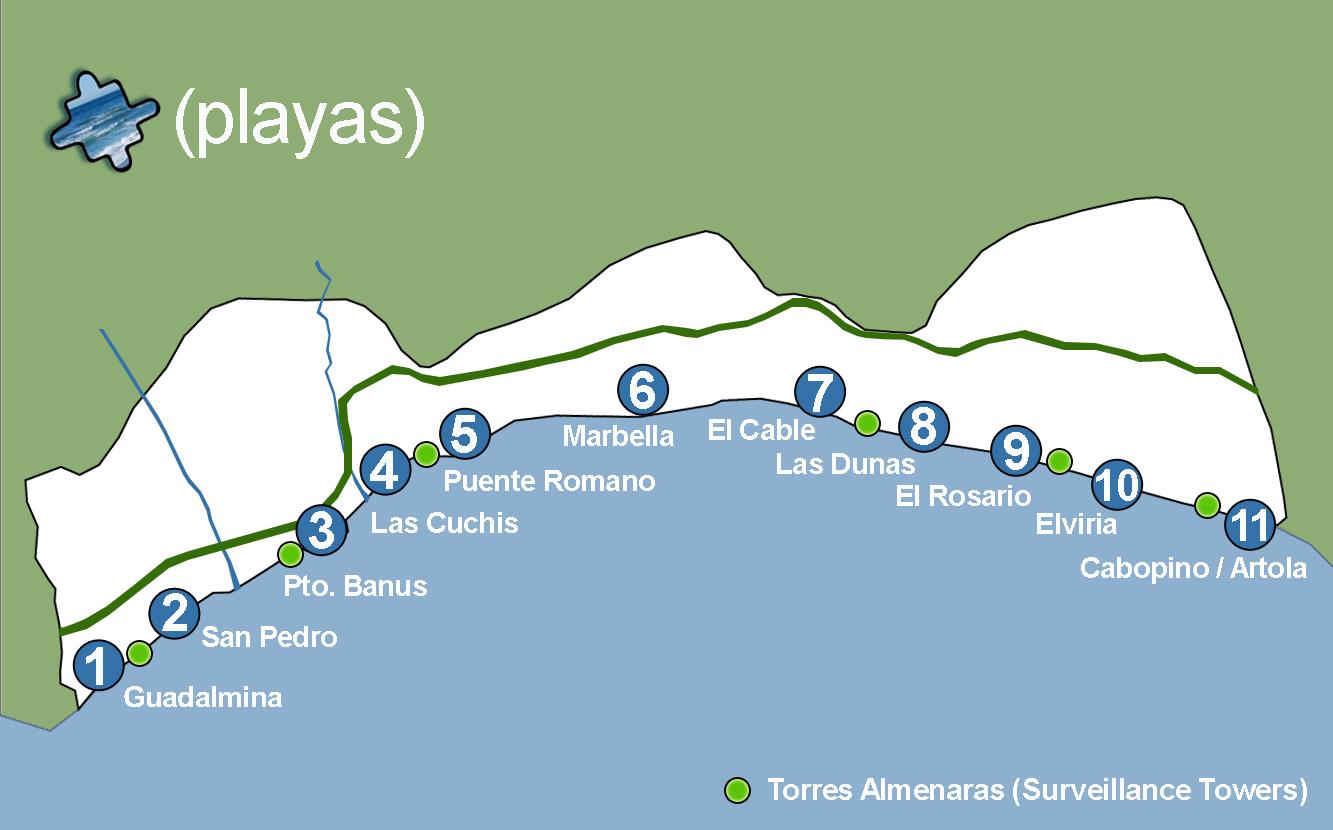 Пляжи Коса дель Соль фото