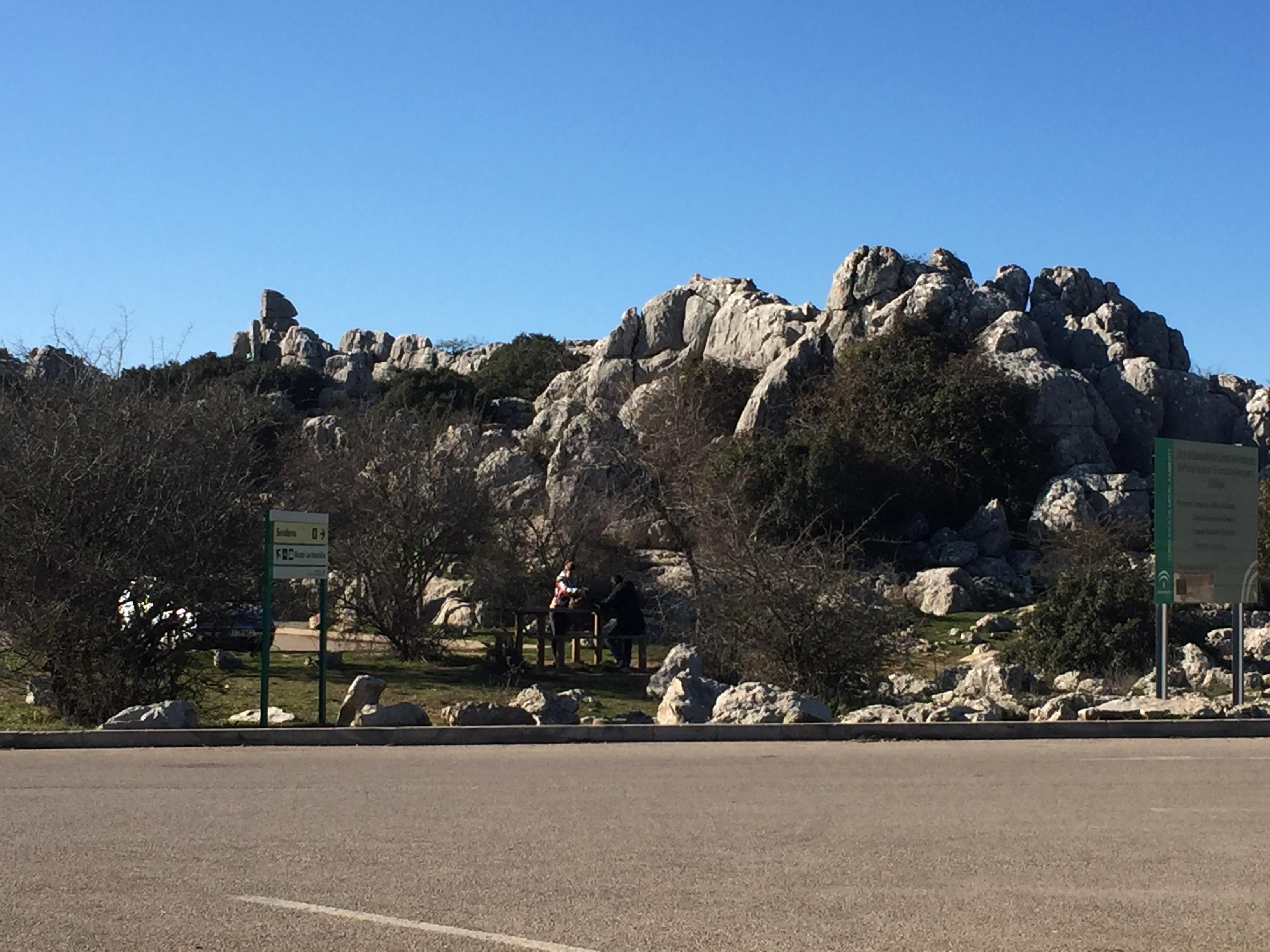 Парк камней рядом с Антекера
