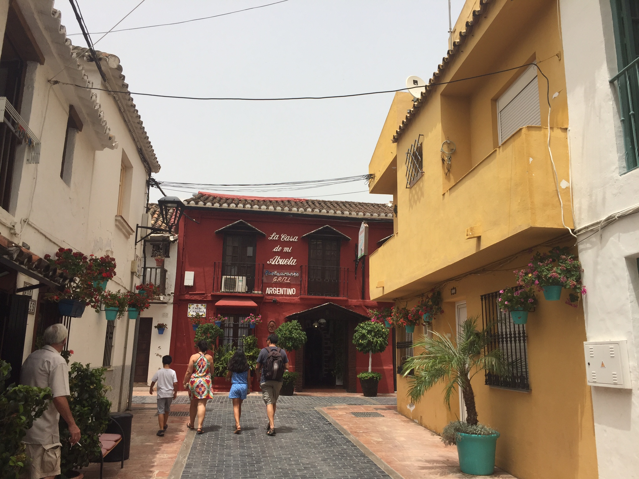 Улочки старого города Эстепоны.