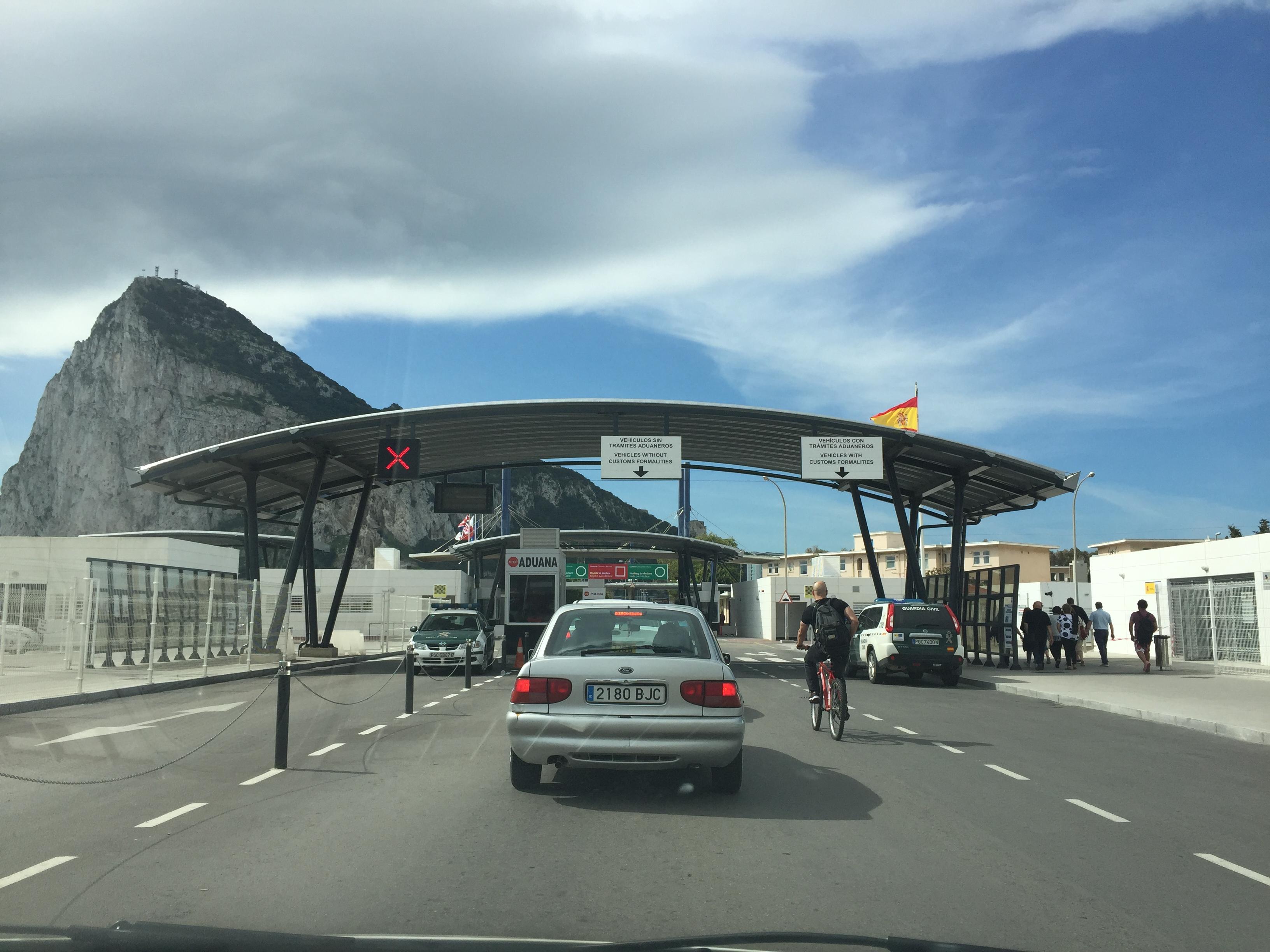 Граница Испания-Гибралтар