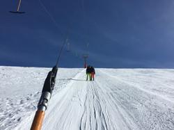 Бугель на высоте 3000 м