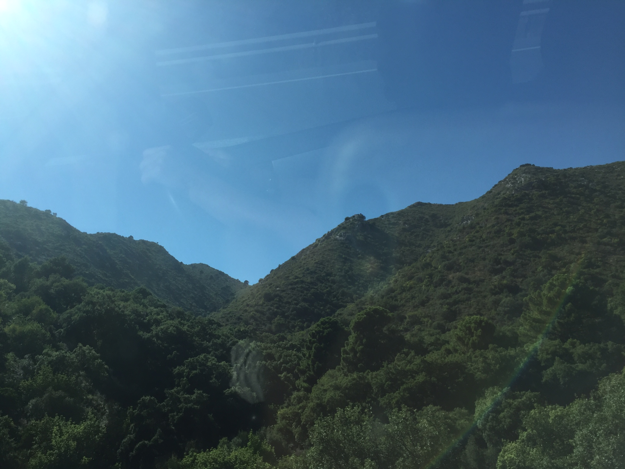 Дорога из Малаги в Марбелья