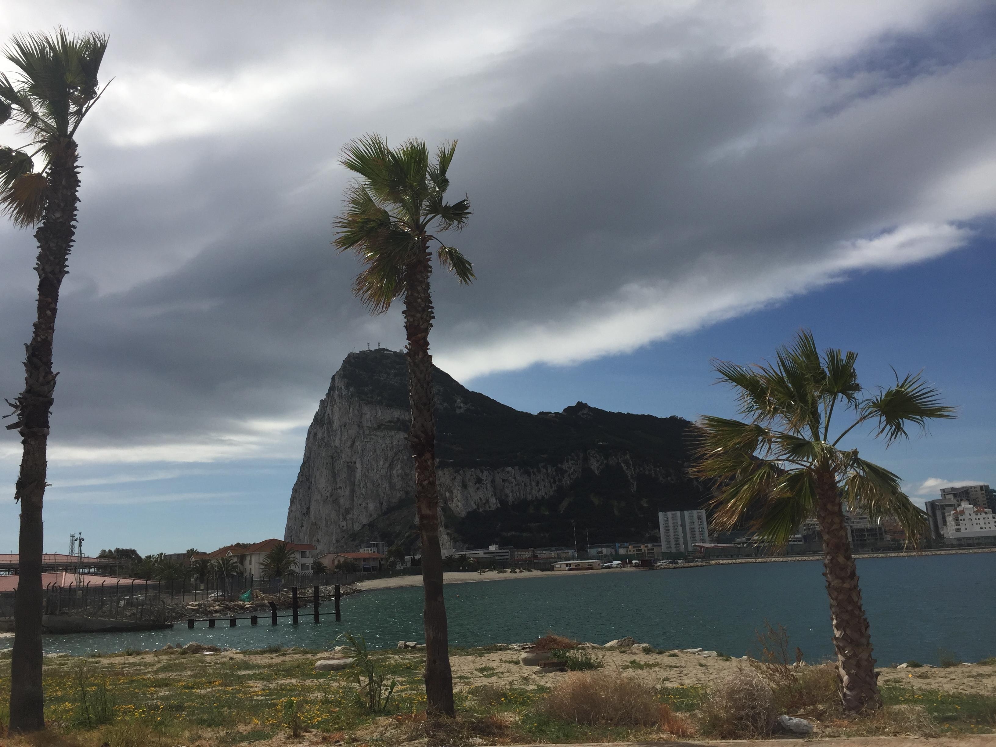 Дорога в Гибралтар. Фото .