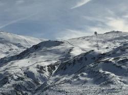 Панорама склона Сьерра Невада