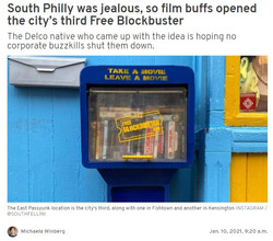 South Philly was jealous so film buffs opened the city's third FreeBlockbuster