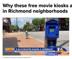 Why these free movie kiosks are popping up in Richmond neighborhoods