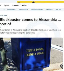 Blockbuster comes to Alexandria... Sort of