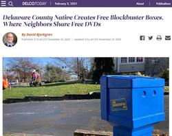 Delaware County Native Creates Free Blockbuster Boxes
