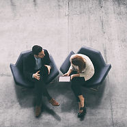 overhead-view-of-two-business-persons-in