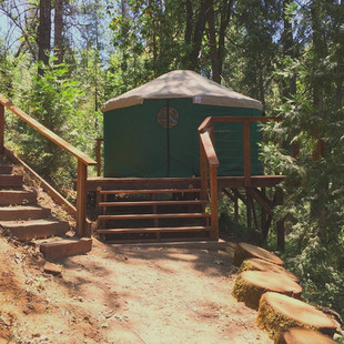 Introducing the Living Intent Nomad Camping Yurt