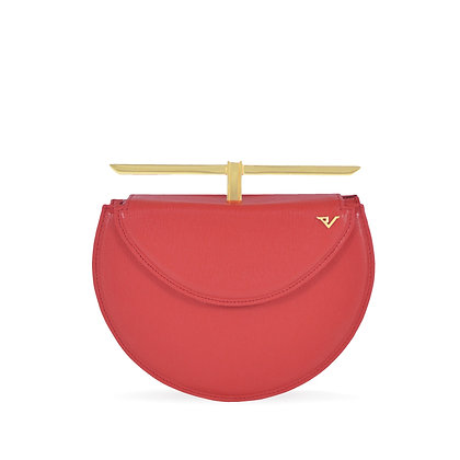 THE CURVED JUSTICE BAG - RED