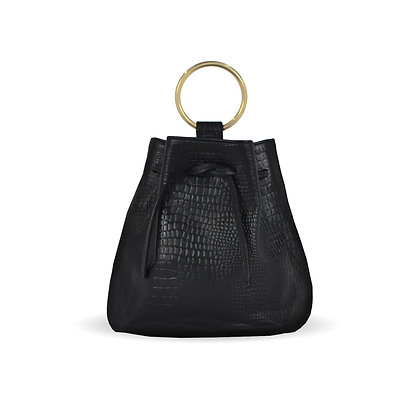 THE GOSSIP BAG - Black