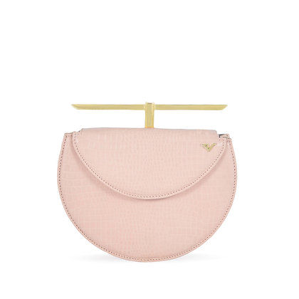 THE CURVED JUSTICE BAG - PINK