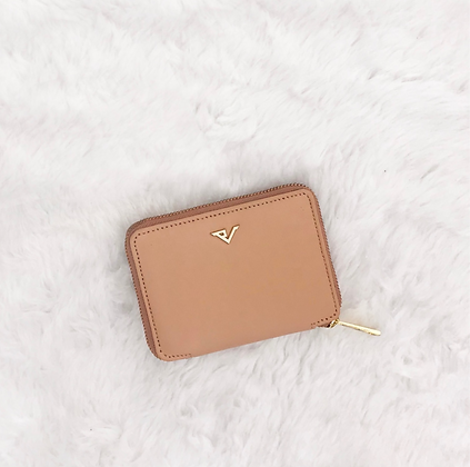 MINI PINK LEATHER WALLET