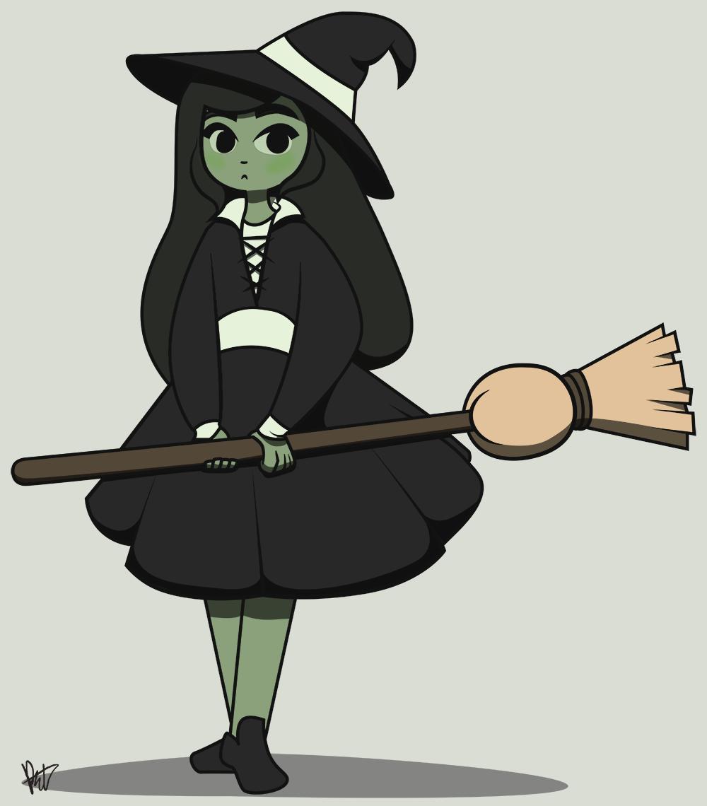 Shy Witch