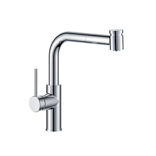 Eiger Code Gooseneck Sink Mixer w/- Pullout spray
