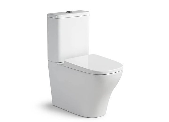 """Eiger Fresh Back to Wall Toilet """"S"""" & """"P"""" Trap Bottom Inlet"""
