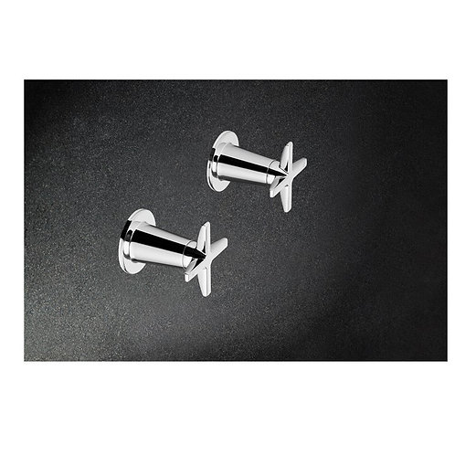 Argent Flite Wall Stop - Pair