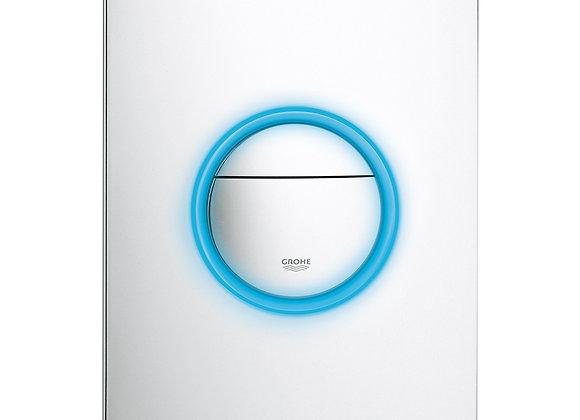 Grohe Nova Light LED Flush Panel for inwall cisterns.